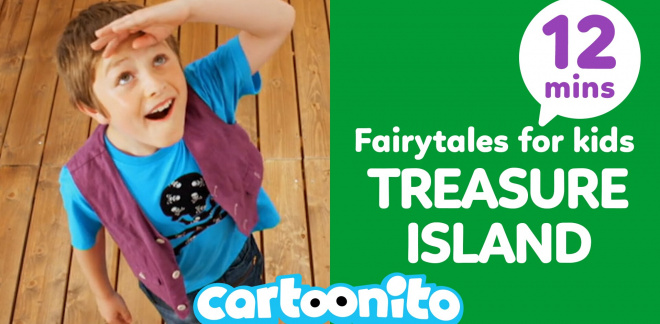 Cartoonito Tales: Treasure Island - Cartoonito Club