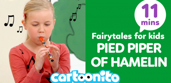 Cartoonito Tales: Pied Piper of Hamelin - Cartoonito Club
