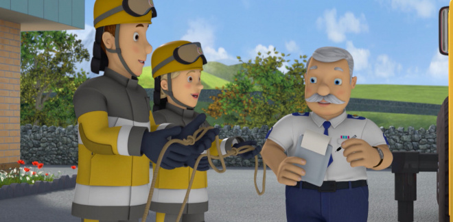 Wheels on the bus wont stop - Fireman Sam