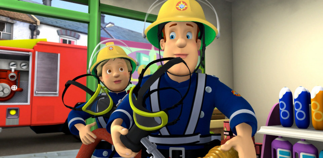 Sam's day of rescues - Fireman Sam