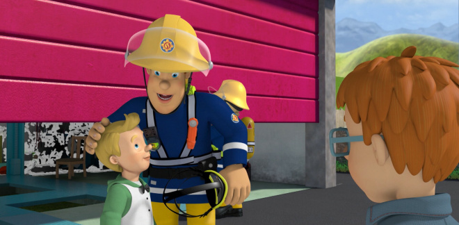 Norman's spy movie - Fireman Sam