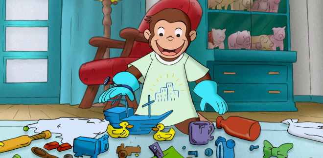 Trash or treasure? - Curious George