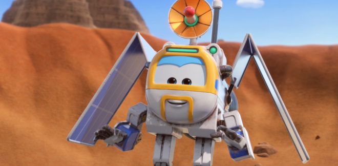 Looking for a UFO - Super Wings