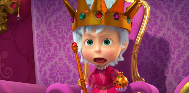 Masha the Queen - Masha and The Bear