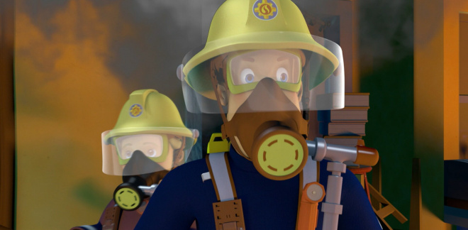 House fire - Fireman Sam