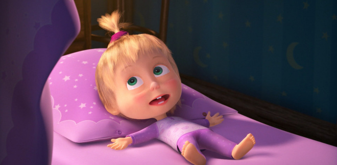 Masha can't sleep! - Masha and The Bear