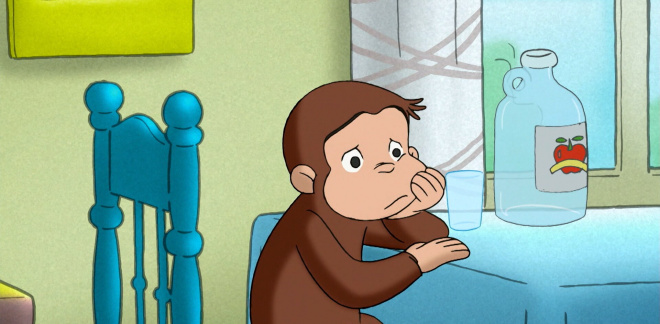 I want my cart back! - Curious George