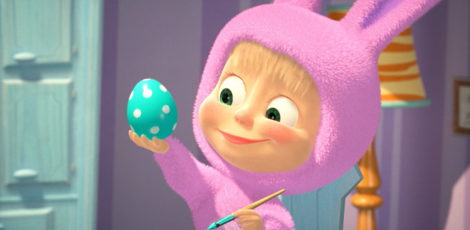 Masha, the surprise bunny - Masha and The Bear