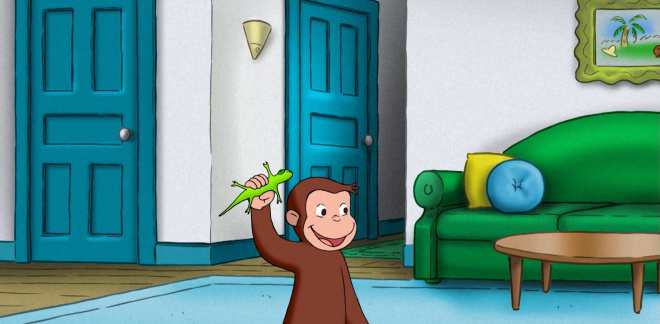 Come back Jade! - Curious George
