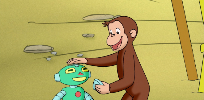 George and the robot - Curious George