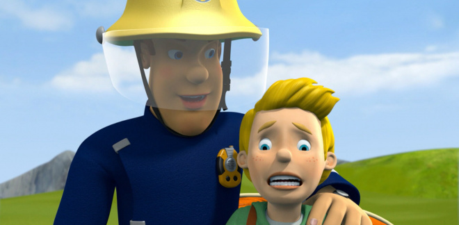 Over the cliff - Fireman Sam