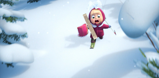 Late back to school - Masha and The Bear