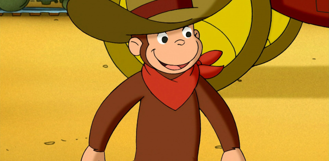 Wild west dreaming - Curious George