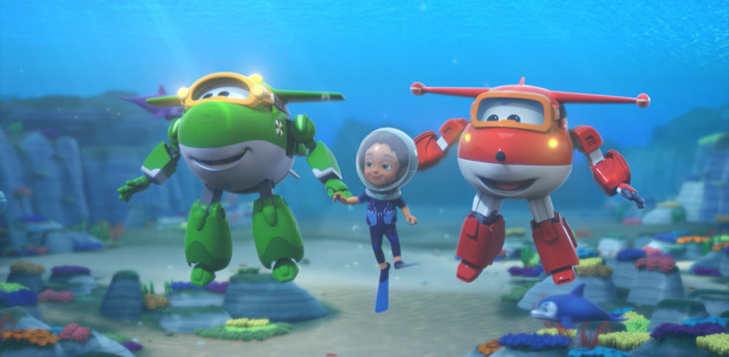 Find the Dolphin - Super Wings
