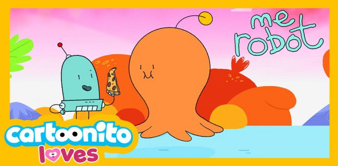 Bip-eating Blob - Cartoonito Loves...