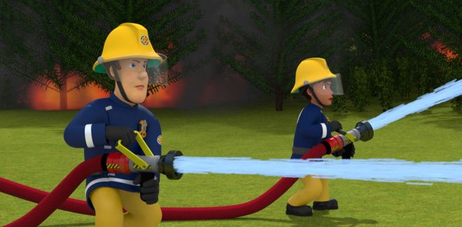 Fire in the woods - Fireman Sam