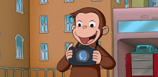 Photographer George - Curious George