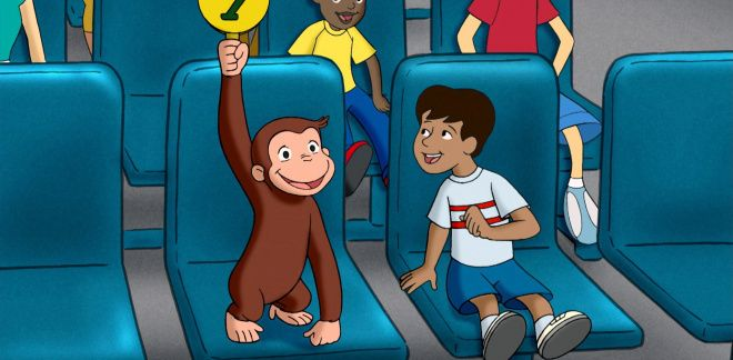 Sold to the monkey - Curious George