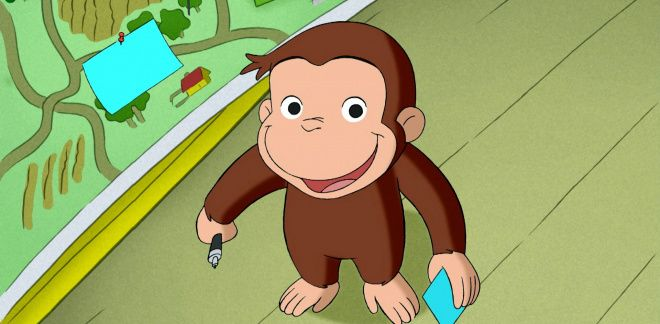 Job adventure - Curious George