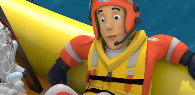 Clean up the ocean - Fireman Sam