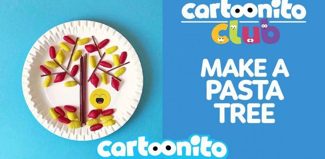 How to make a pasta tree - Cartoonito Club