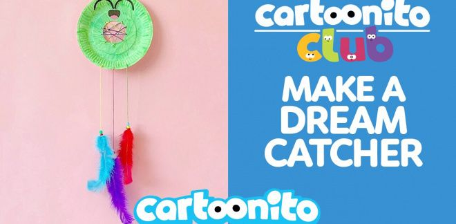 How to make a dream catcher - Cartoonito Club