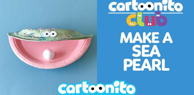 How to make a sea pearl - Cartoonito Club
