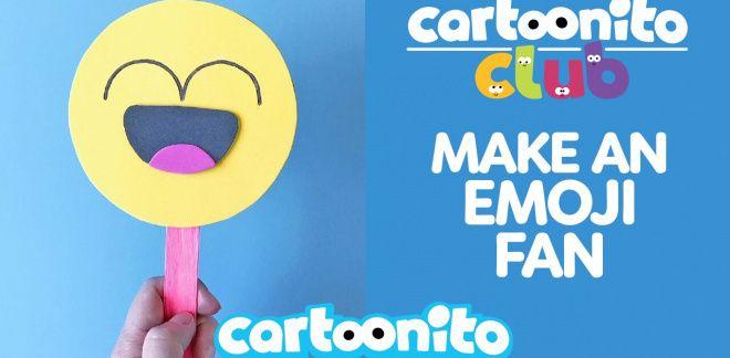 How to make an Emoji fan - Cartoonito Club