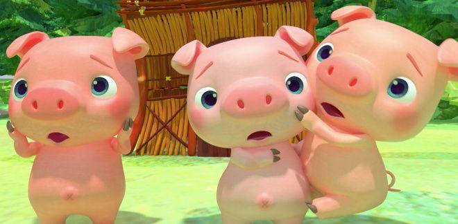 Three Little Pigs - Cocomelon