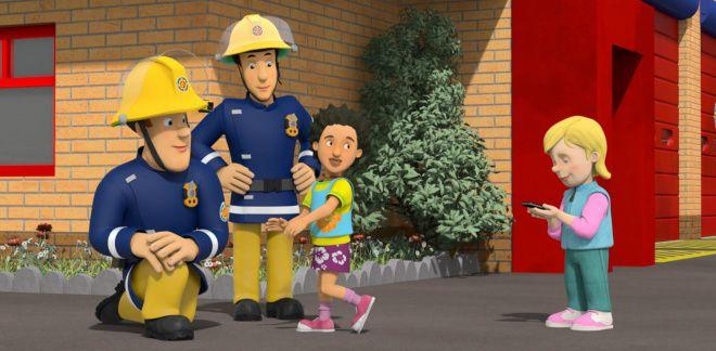 A caccia di scoop - Sam il Pompiere