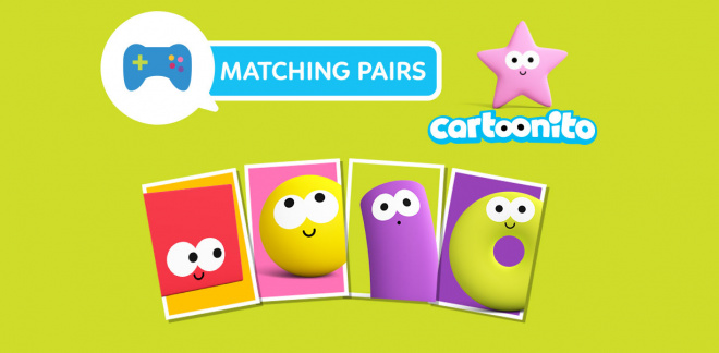 Cartoonito Matching Pairs