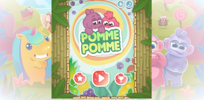 Game Cartoonito - Pomme pomme