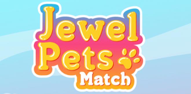 Game Cartoonito Jewel Pets Match