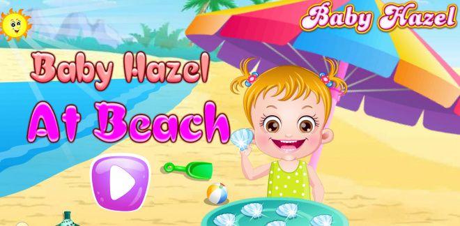 Baby Hazel at the Beach