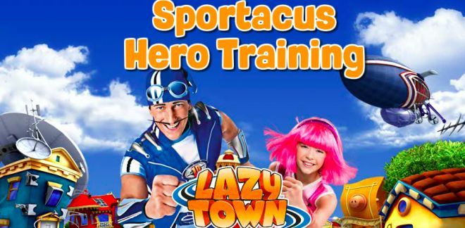 Sportacus Hero Training - LazyTown