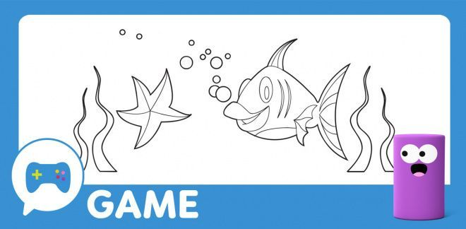Cartoonito Club - Fish Painting Game