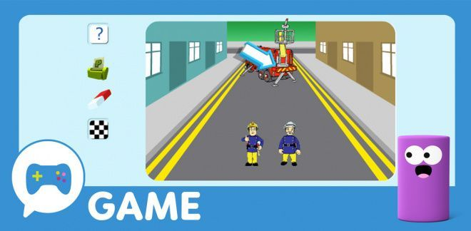 Fireman Sam Create a Picture