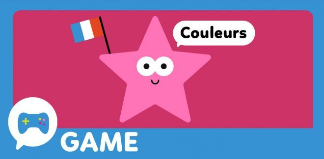 French Word Fun Colours