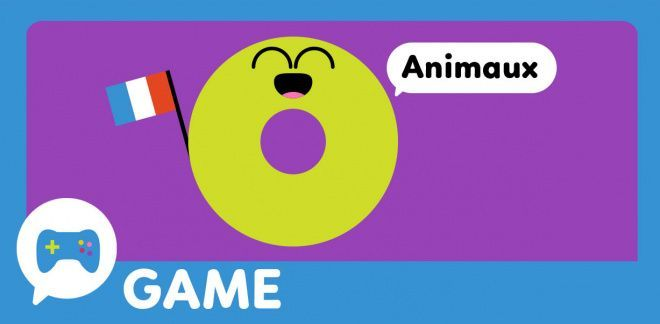 French Word Fun Animals - Cartoonito Club