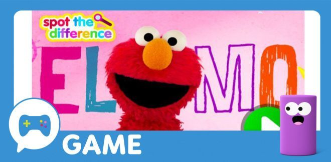 Sesame Street - Spot the Difference with Elmo