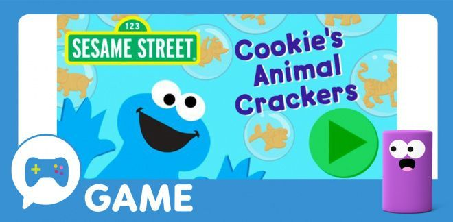 Cookie's Animal Crackers - Sesame Street