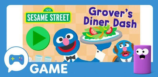 Grover's Diner Dash - Sesame Street