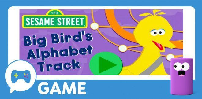 Big Bird's Alphabet Track - Sesame Street
