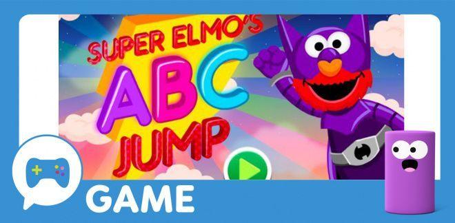 Super Elmo's ABC Jump - Sesame Street