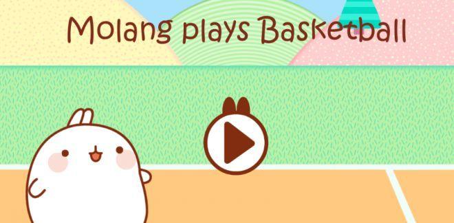 Molang plays Basketball - Molang