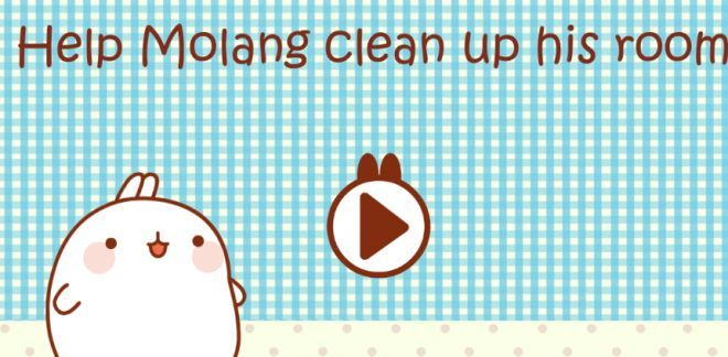 Molang - Help Molang clean up his room