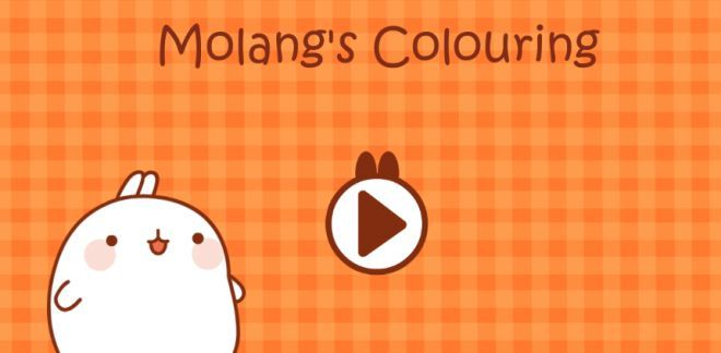 Molang's Colouring - Molang