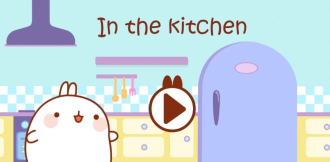 In the Kitchen - Molang
