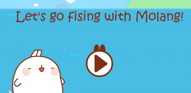 Let's go fishing with Molang - Molang