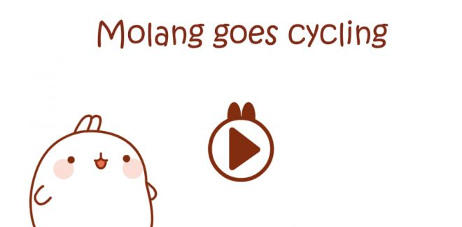 Molang goes Cycling - Molang